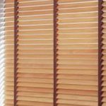wooden blinds in Bolton