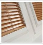 wooden blinds in Worsley